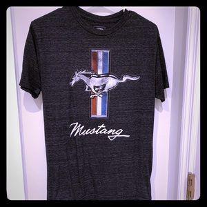 $4 Tee!  Ford Mustang black pony Men's S